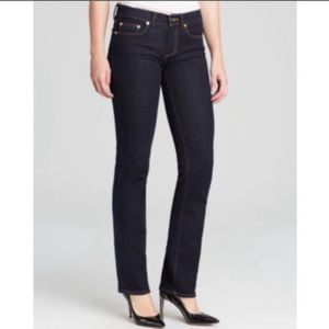 Tory Burch Straight Leg Denim Jeans